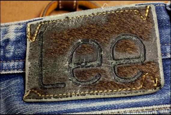La badana de piel de vaca original de Lee